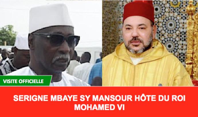 Le Khalife Général des Tidianes Serigne Babacar SY Mansour en visite au Maroc sur invitation du Roi Mohamed VI