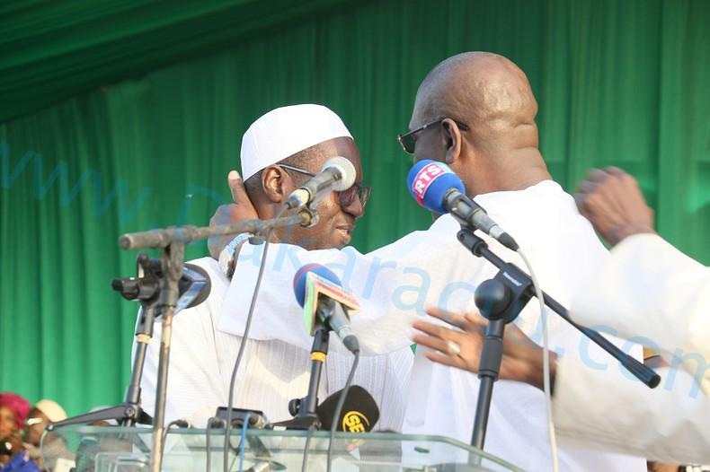 APR PIKINE / LA PAIX DES BRAVES ENTRE TÉNORS DU PARTI : Abdou Karim Sall et Abdoulaye Thimbo se donnent la main pour la réélection de Macky Sall en 2019