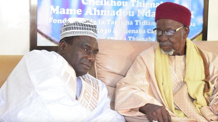 """Cheikh Kanté à Thiénaba : """"En termes de réalisations dans les villes religieuses, le Président Macky Sall n'a pas d'égal"""""""