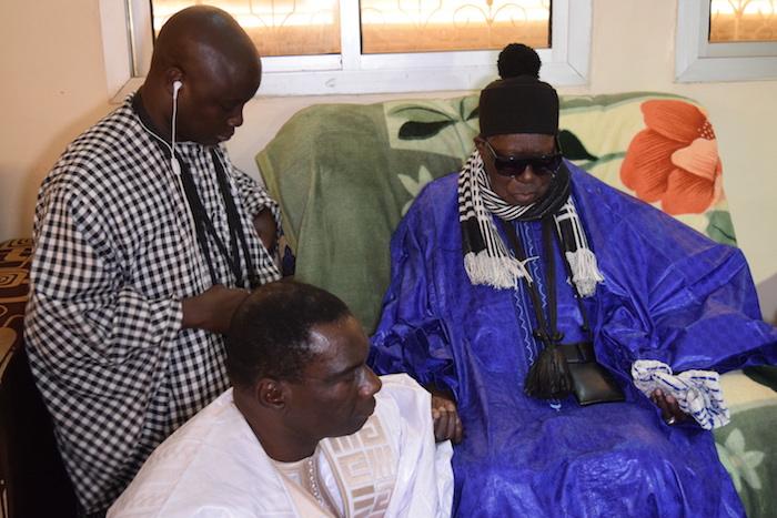 """Pour la réélection de Macky Sall en 2019 : Cheikh Kanté obtient le soutien du Khalife des """"Baye-Fall"""""""