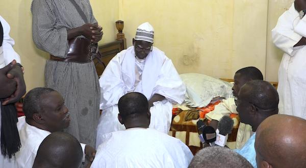 RENCONTRE AVEC LE KHALIFE ET LE PORTE-PAROLE DES MOURIDES : Touba bénit Cheikh Kanté