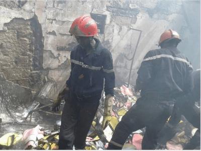 Nganda : Un garçon de 4 ans emporté par les flammes