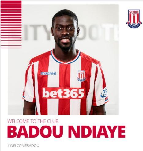 Premier League – Stoke city : Badou Ndiaye (Galatasaray) a signé