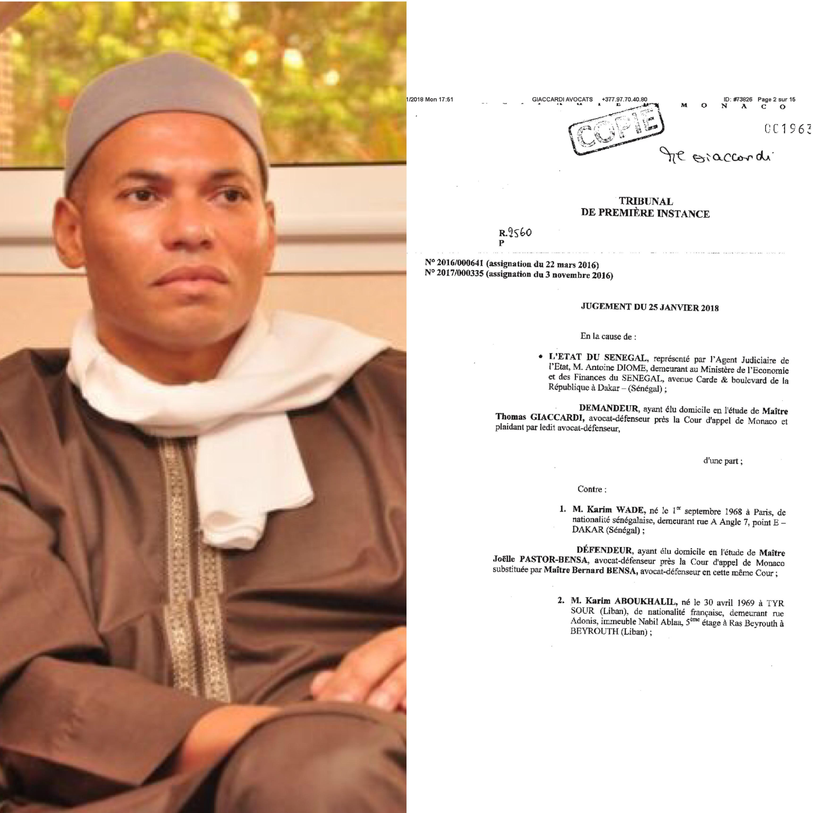 """Résultat de recherche d'images pour """"Karim Wade monaco"""""""