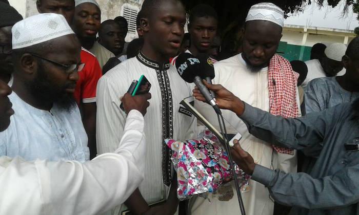 Après avoir remporté le prix Cheikhou Oumar Foutiyou Tall : Le fils de l'imam Alioune Badara Ndao accueilli chaleureusement à Kaolack
