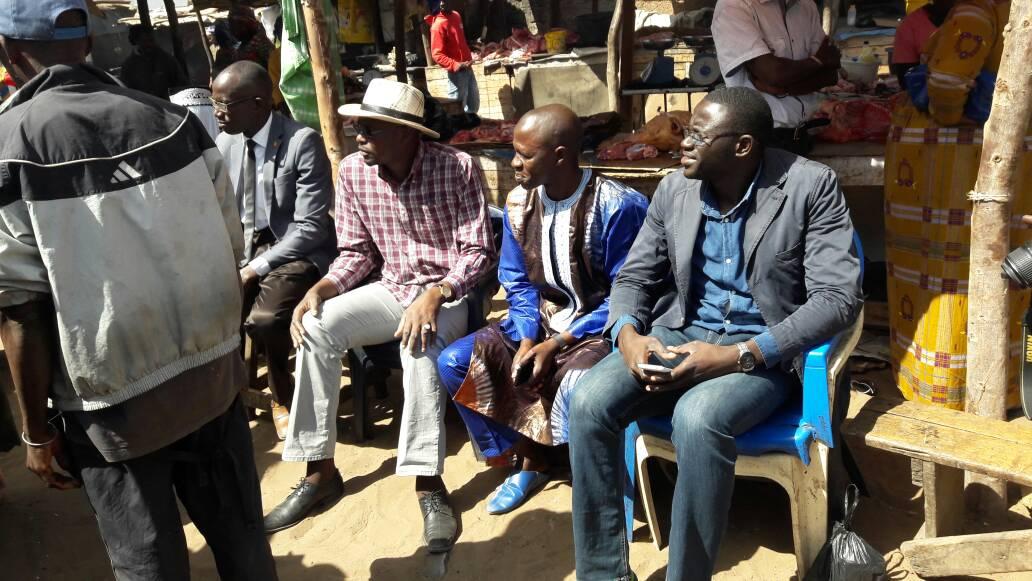 Marché Grand-Yoff : Les acteurs du commerce exposent leurs doléances au député Moussa Sané