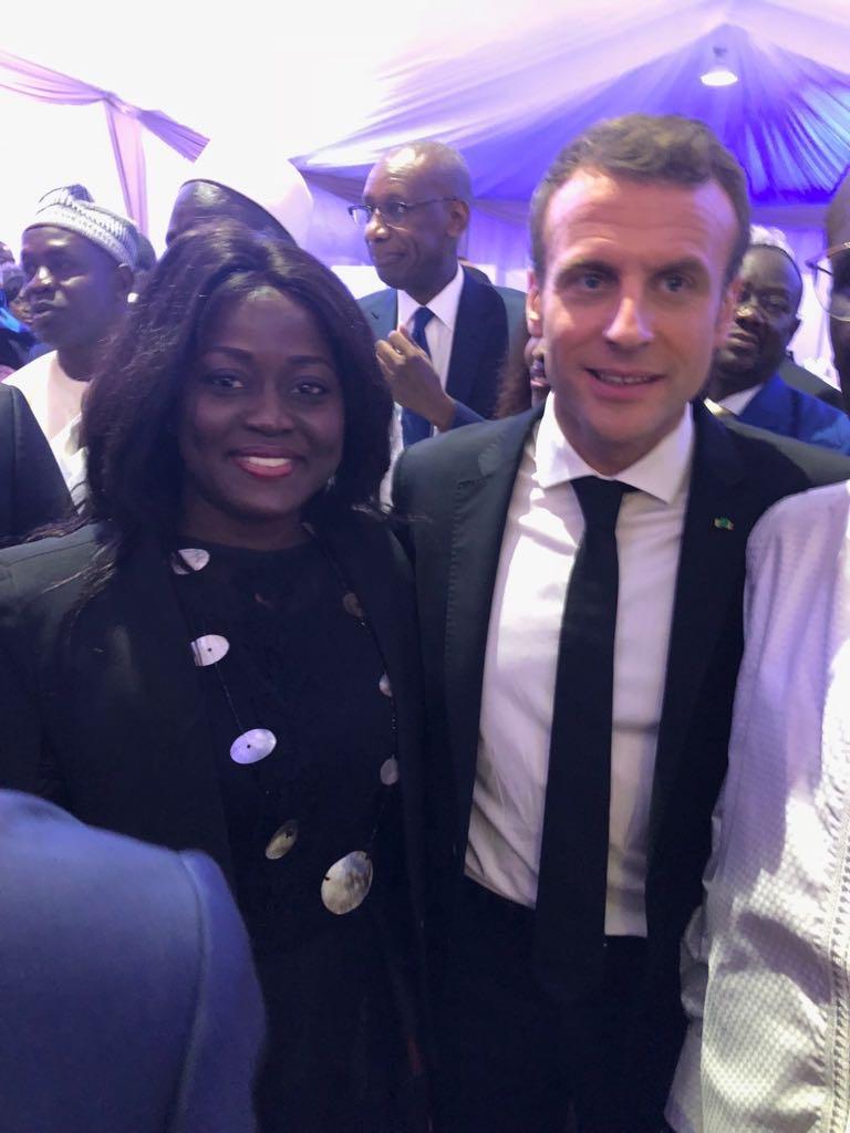 FRANCE/SÉNÉGAL : Emmanuel Macron prône l'économie solidaire pour renforcer la coopération