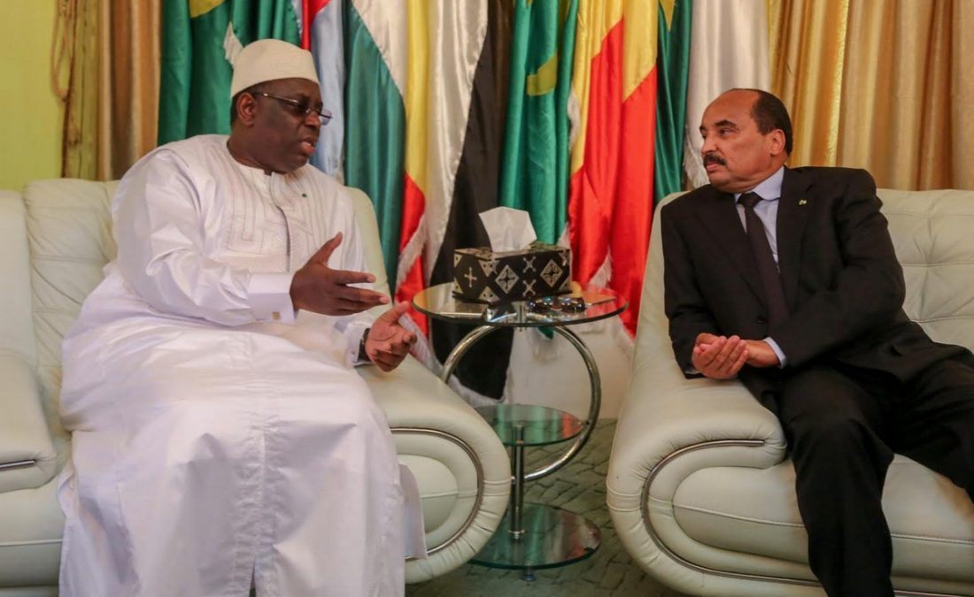 Visite de Macky Sall à Nouakchott : quel impact sur l'accord gouvernemental pour le partage du pétrole ?