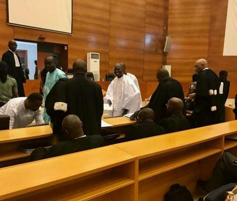 Procès : Khalifa Sall fait sa déclaration de patrimoine au juge