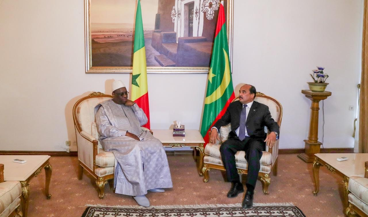 Déclaration du Président Abdel Aziz : « Nous partageons beaucoup de choses et avant tout le fleuve Sénégal est un trait d'union »