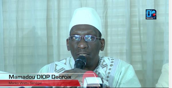 Mamadou Diop Decroix lance le nouveau slogan de l'opposition : « Plus jamais ça…le pays va mal »