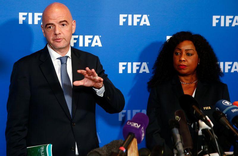 La FIFA ambitionne d'atteindre la parité (hommes-femmes) dans ses commissions à l'horizon 2026