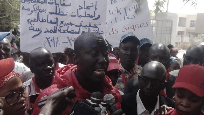 Dame Mbodj, coordinateur national de la Feder : « La Fédération des enseignants du Sénégal ne sabote pas l'école, mais elle demande le respect des engagements signés avec l'État du Sénégal »
