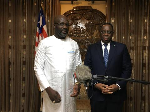 Georges Weah au Sénégal : La visite finalement reportée à demain jeudi