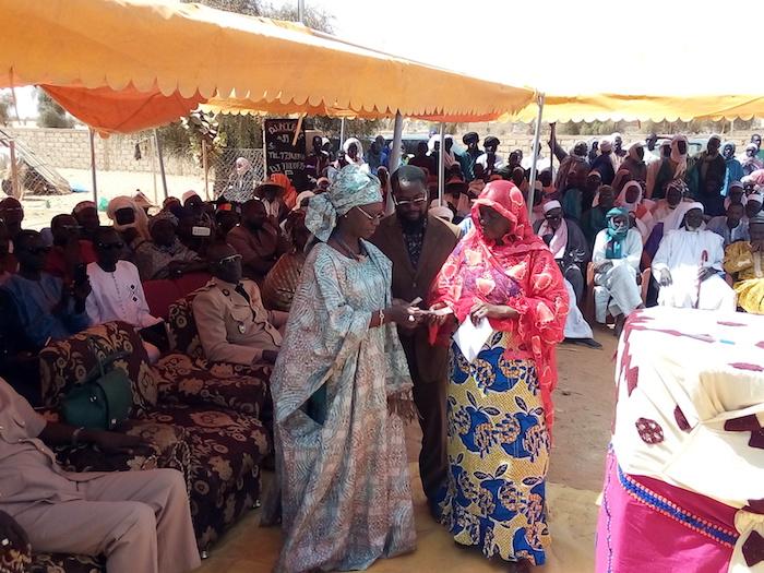 PODOR : Menacés d'insécurité alimentaire, 643 ménages de la commune de Mbolo Birane reçoivent un appui de l'État