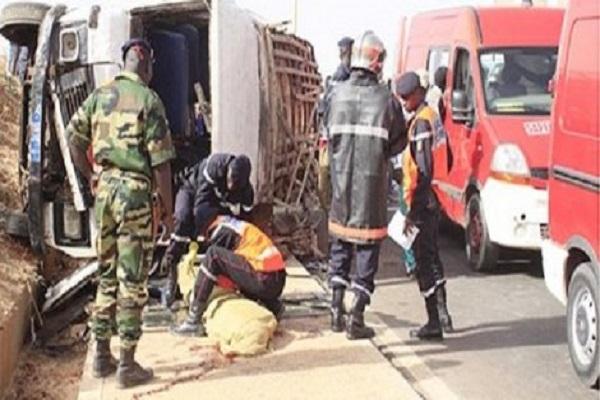 Accident sur la route de Porokhane : Le bilan est passé de 9 à 10 morts