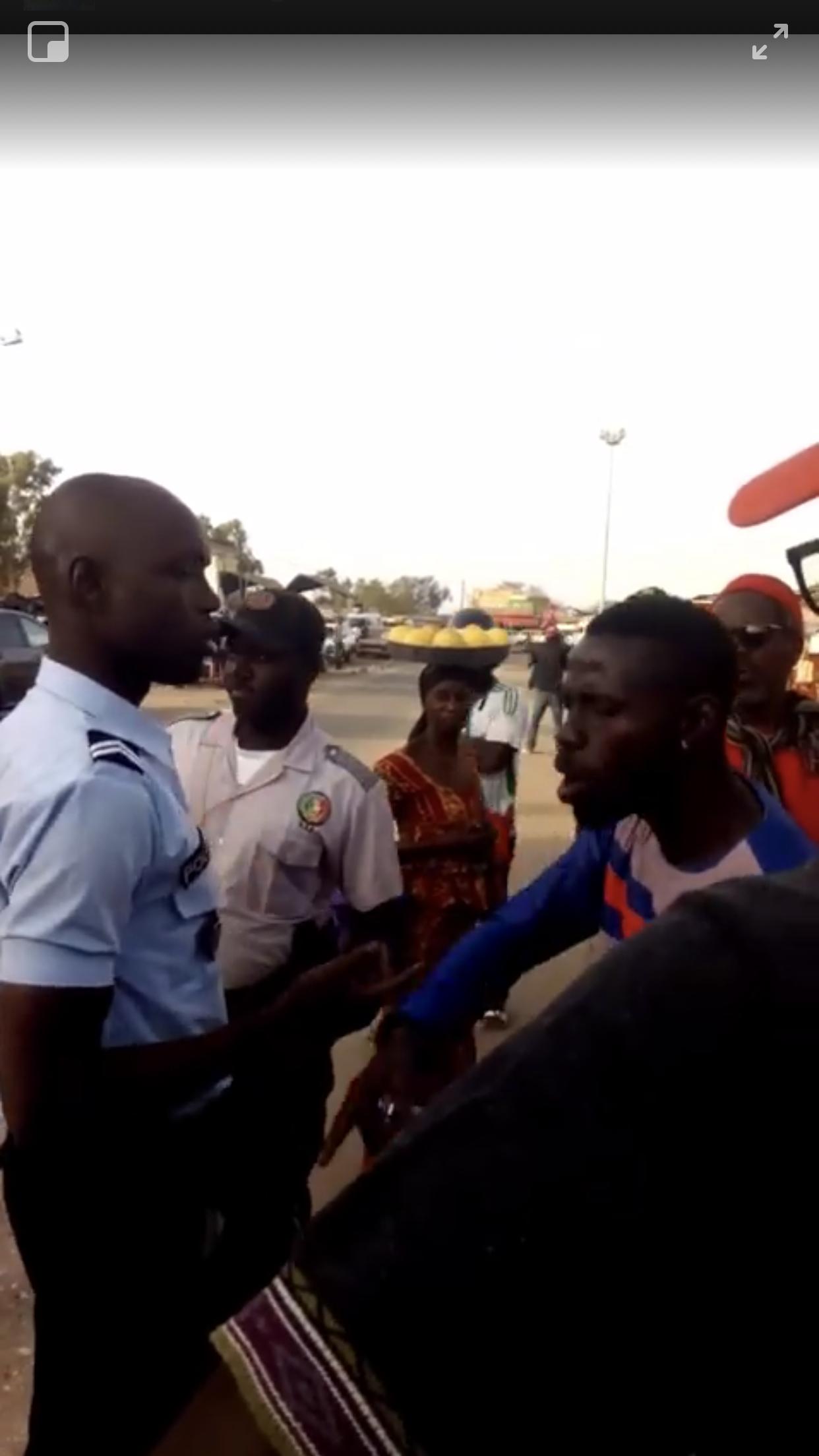 Agression contre un motocycliste : la police nationale présente les regrets du ministre Aly Ngouille Ndiaye