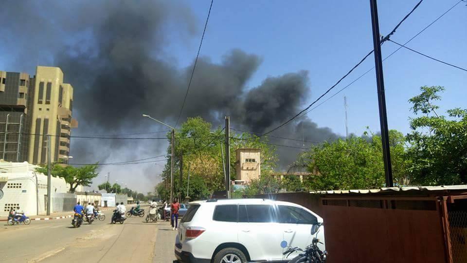 Une attaque en cours à Ouagadougou