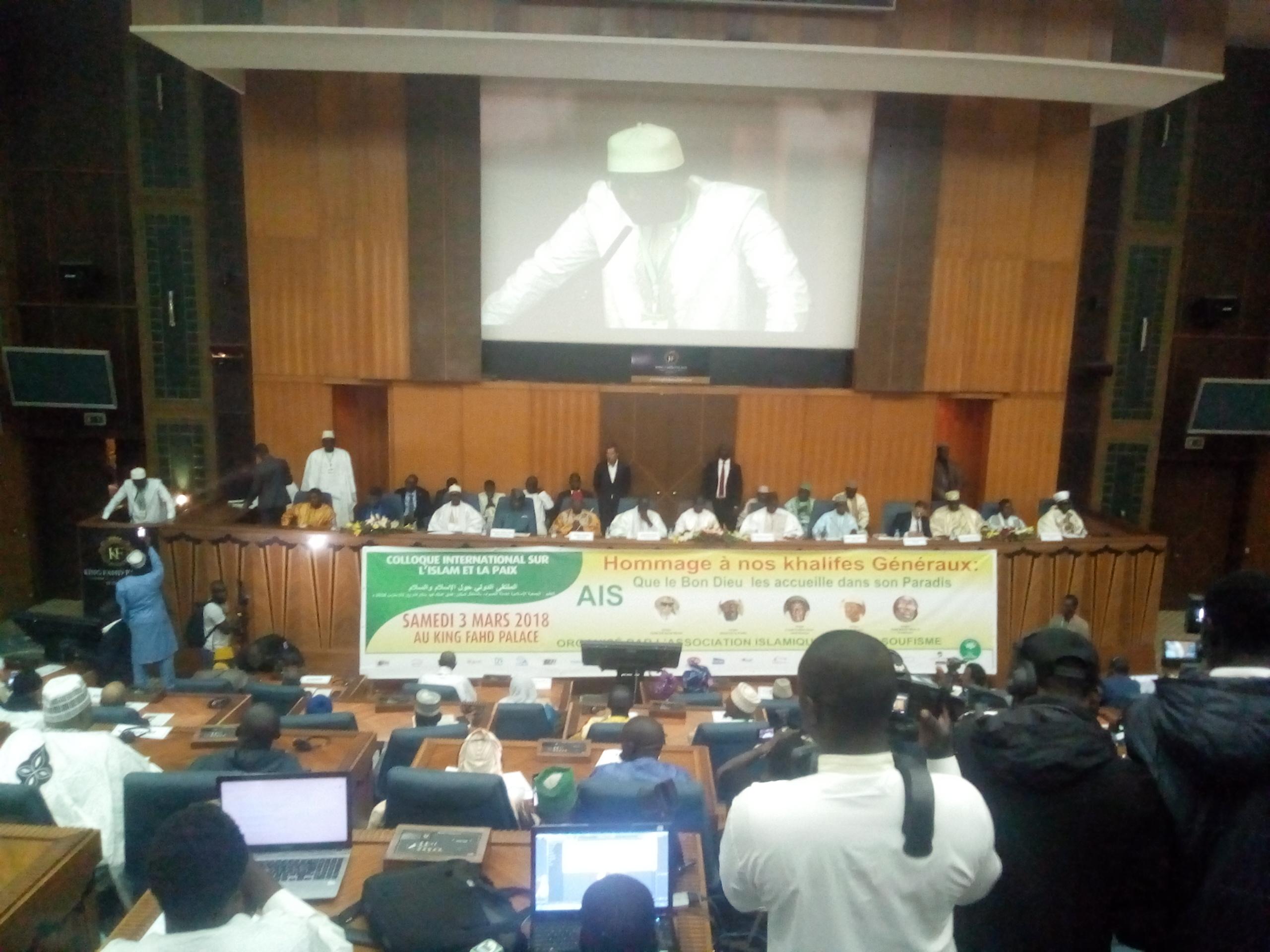 Ouverture à Dakar du colloque de l'Ais sur l'Islam et la Paix