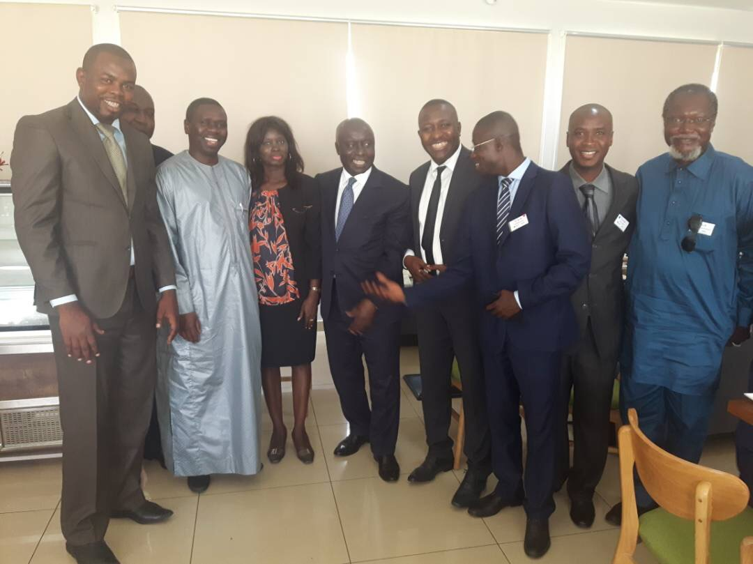 Accra : retrouvailles entre Idy, Me Youm, Thérèse Faye…