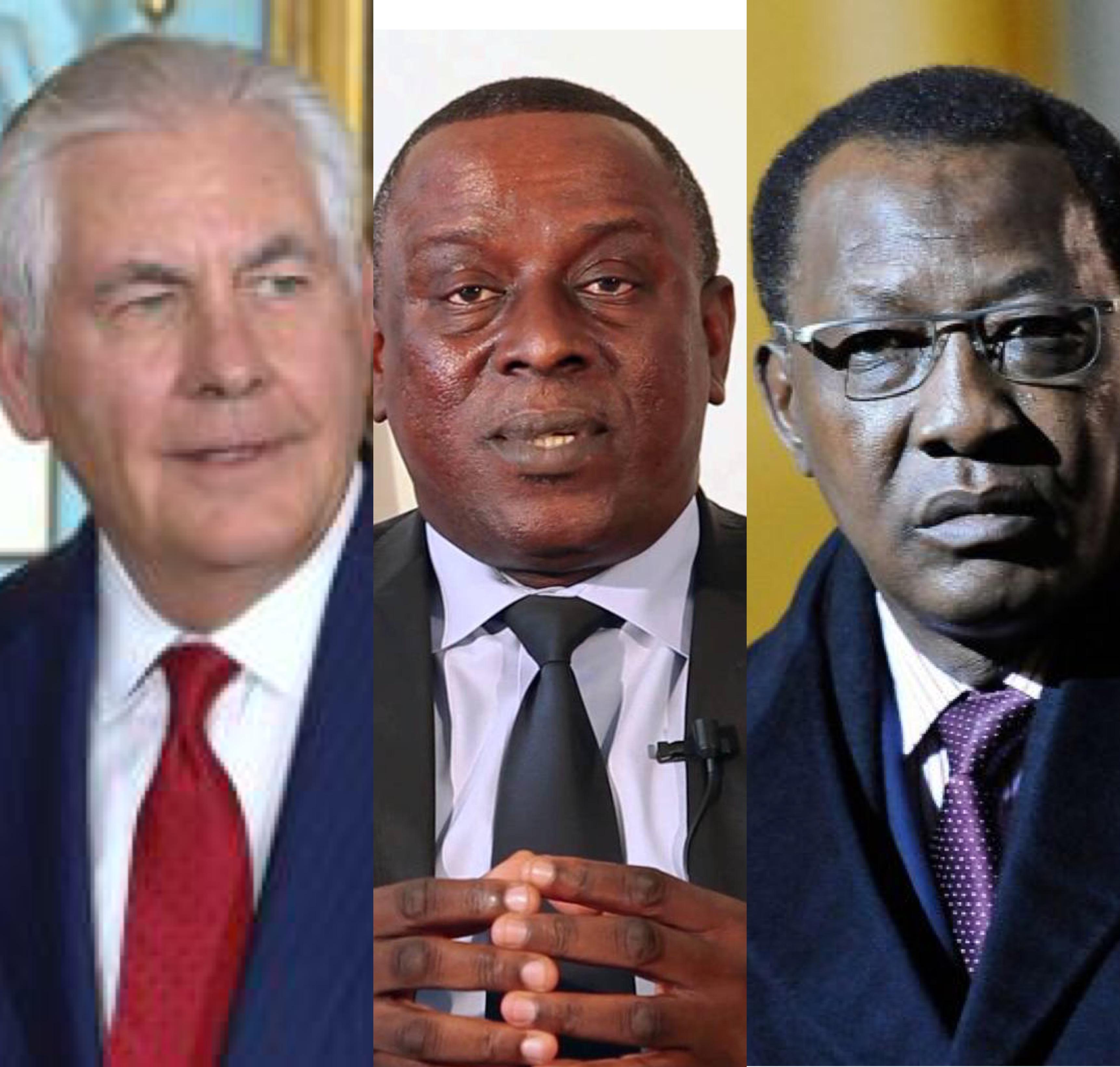 Visite du secrétaire d'Etat américain au Tchad :  la tête de Gadio mise à prix