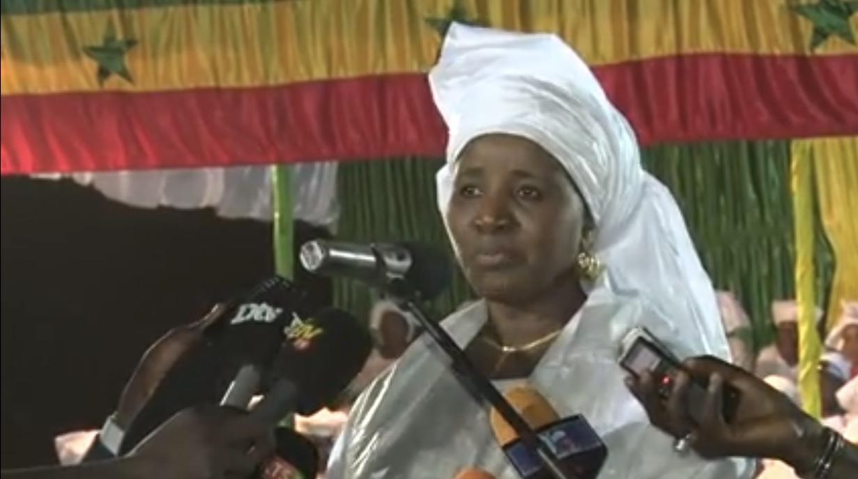 KAOLACK : Mariama Sarr liste et vante les réalisations du Président Macky Sall pour le Saloum et le Sénégal