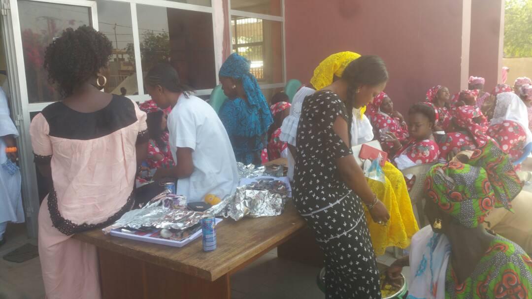 8 Mars à Kaffrine : Les sages femmes organisent un don de sang à la mairie