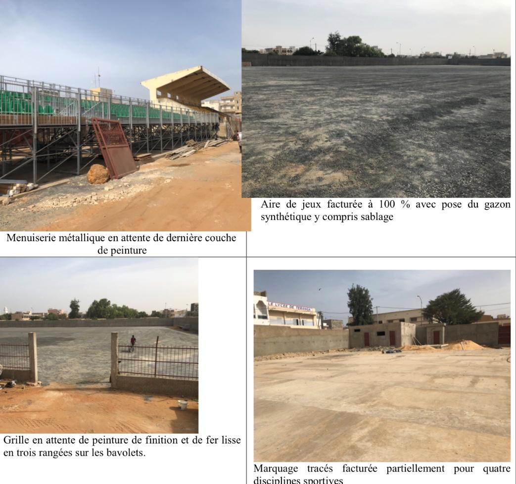 Réhabilitation et extension du stade de Guédiawaye : les chiffres effarants de la  bamboula de Mbaye Faye (Armp)
