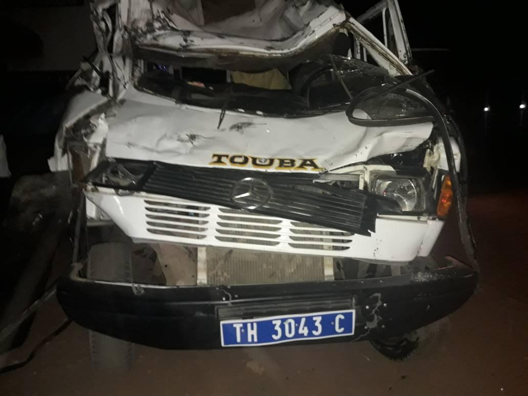 ACCIDENT À MBACKÉ - Un mort, une trentaine de blessés dont huit graves