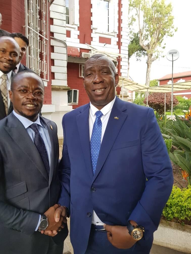 Antananarivo (Madagascar) : Abdou Mbow reçu par le Président de la République et le Premier ministre