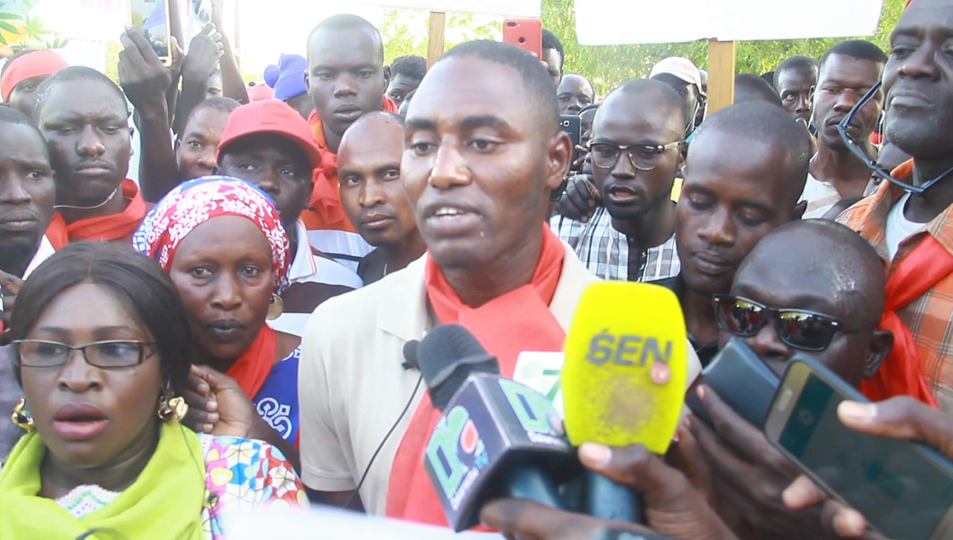 MARCHE DE L'OPPOSITION À MBACKÉ - Départ d'Aly Ngouille Ndiaye et prolongement de la période d'inscription et de retrait des cartes exigé