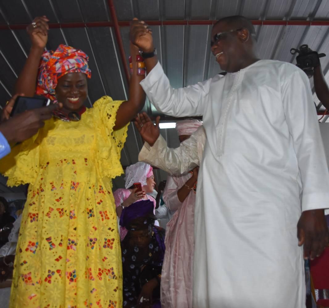 PRÉSIDENTIELLE 2019 : l'appel obstiné  d'Aminata Angélique Manga à Abdoulaye Baldé