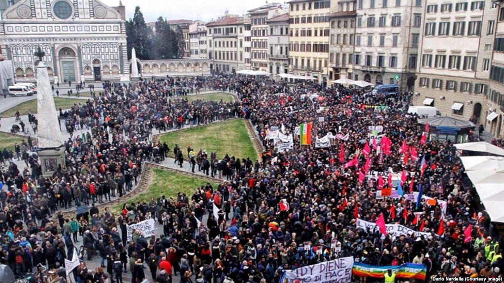 Meurtre de Idy Diène : Des milliers de personnes ont participé à une marche antiraciste