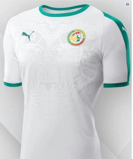 Puma : le maillot away du Sénégal pour le Mondial 2018