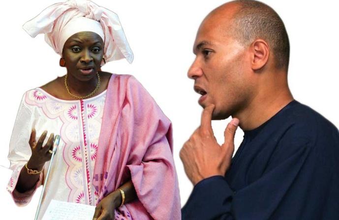 """Mimi Touré : """"Ce serait bien de le revoir, le sieur Karim Wade, avec le chèque de 138 milliards qu'il doit aux sénégalais"""""""