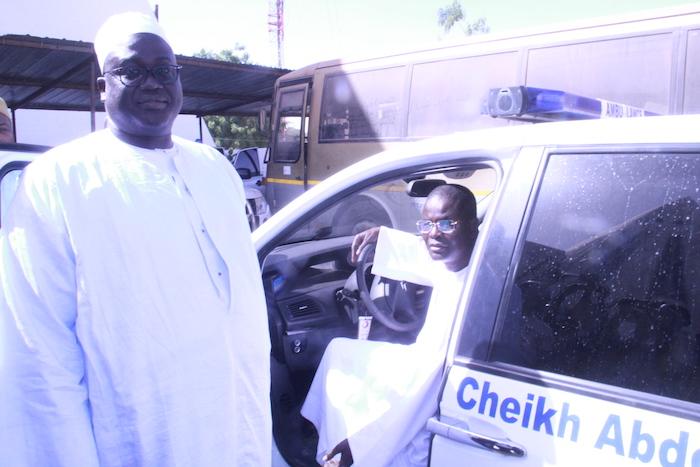TOUBA / Cheikh Abdou Lahad Mbacké Gaïndé Fatma offre au district sanitaire de la cité une ambulance médicalisée