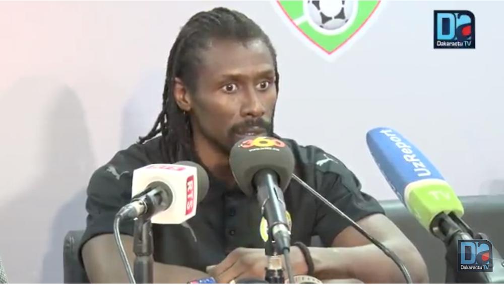« Le Sénégal méritait de gagner ce match » (Aliou Cissé)