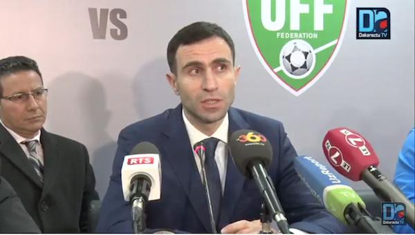 « Ce match nous montre que nous avons un très bon niveau » (coach Ouzbékistan)