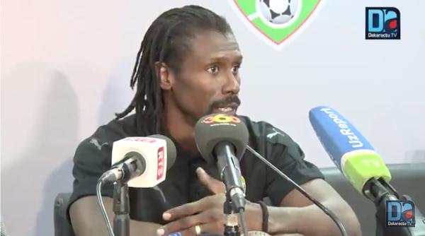 Aliou Cissé aux journalistes : « Je n'ai jamais empêché un joueur de parler avec vous »