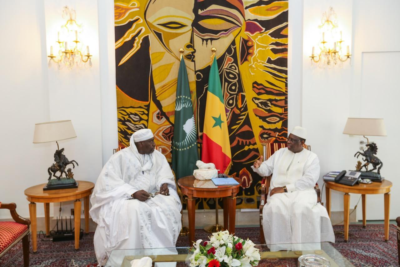 Reçu par Macky Sall, Abdoulaye Makhtar Diop s'engage à jouer un rôle de facilitateur dans la crise de l'éducation
