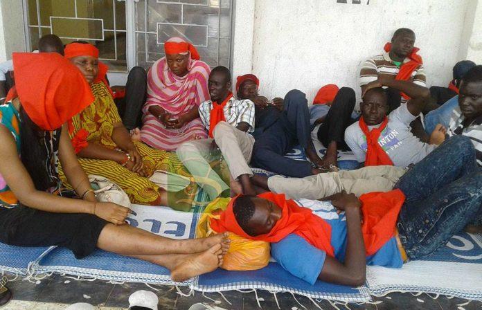 Municipalité de Kaolack : 39 ex-travailleurs entament une grève de la faim illimitée