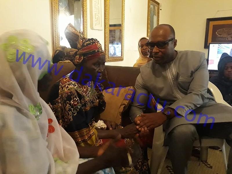 Après le verdict condamnant Khalifa Sall à 5 ans ferme : Barthélémy Dias chez la mère du maire de Dakar