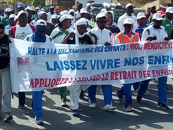 Rapts, Viols, mendicité et mutilations sur les enfants : Les randonneurs de Saint-Louis dénoncent