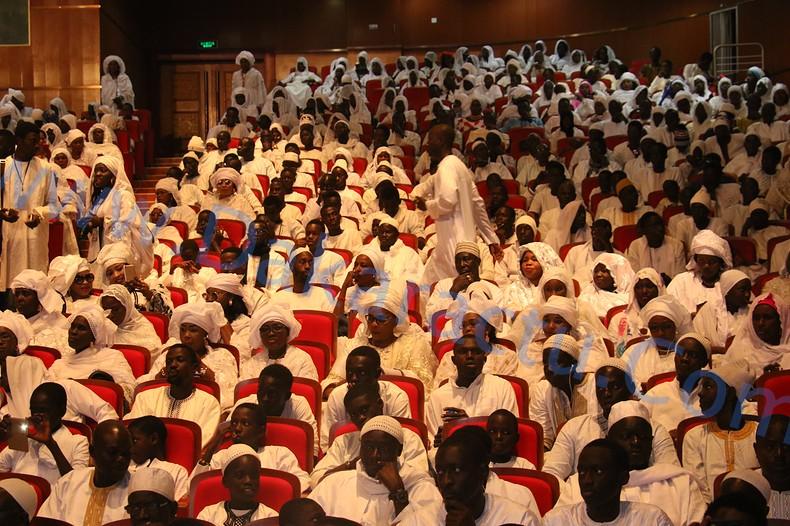 Les images de la Conférence religieuse du Daara Seydina Limamoulaye au Grand Théâtre de Dakar