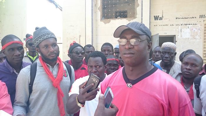 Salins du Saloum : Sit-in des journaliers pour dénoncer leurs conditions de travail