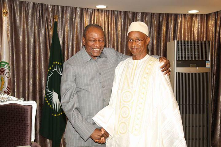 Vent de décrispation à Conakry : Alpha Condé et Cellou Dalein Diallo enterrent la hache de guerre