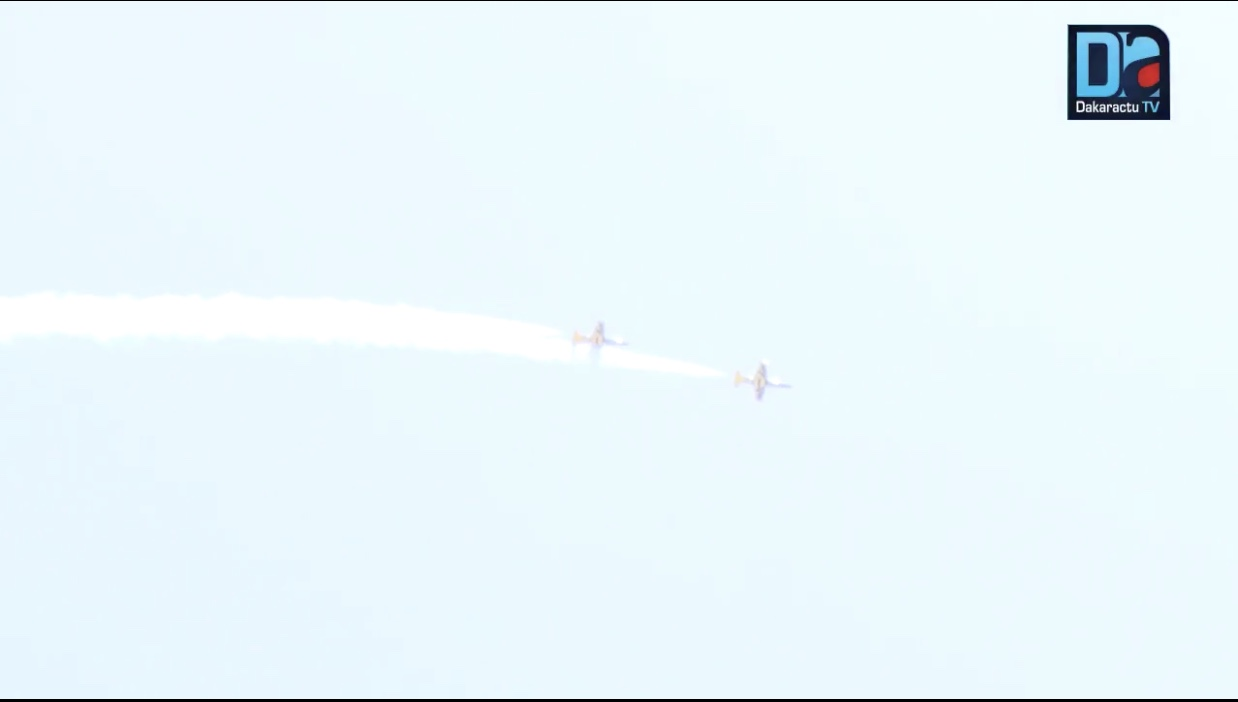 CES DEUX AVIONS QUI ONT DÉFILÉ CE 4 AVRIL- Des L-39NG, dernière évolution de L'Albatros fabriqués par une entreprise Tchèque et testés au Sénégal