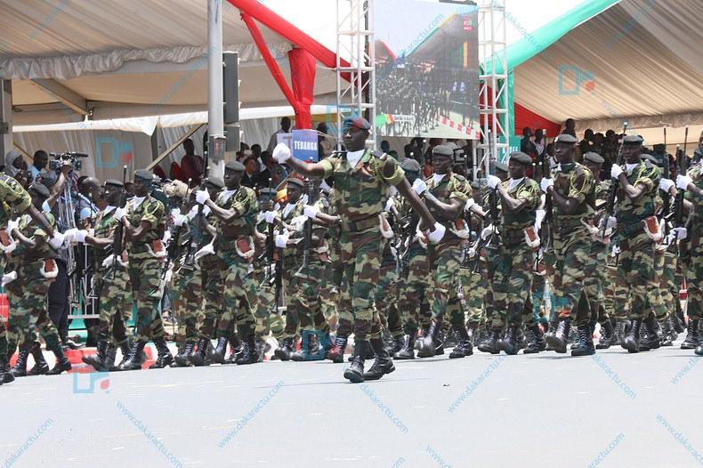 Défilé du 4 avril : Les soldats ont arboré les plus belles tenues