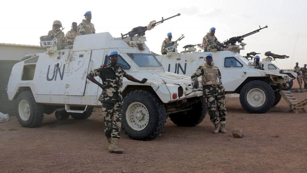 Mali : deux casques bleus tués à Kidal
