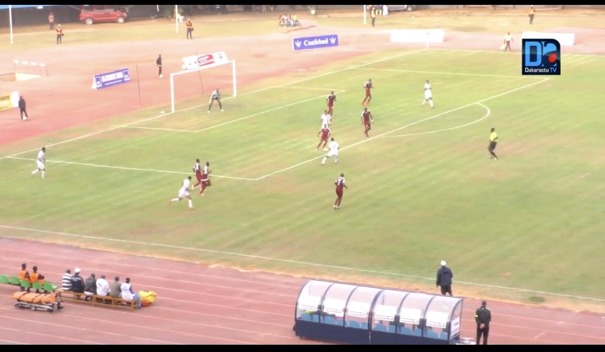 16ème de finale Coupe CAF : GF prend une bonne option devant RS Berkane (3-1), triplé de Dia Ndiaye